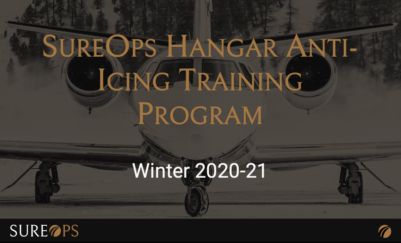 Online Hangar Anti-Icing Training Program is Launched